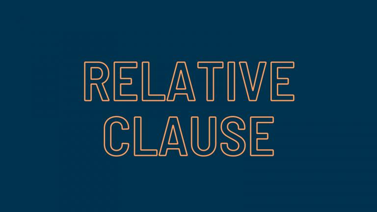Relative Clause - แกรมม่าต้องรู้ก่อนสอบ TOEIC