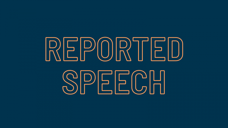 Reported Speech - แกรมม่าต้องรู้ก่อนสอบ TOEIC